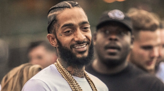 Developing: Nipsey Hussle reportedly shot in front of his L.A. store