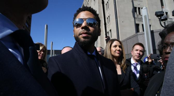 WINDY CITY FANNING THE FLAMES IN SMOLLETT CASE